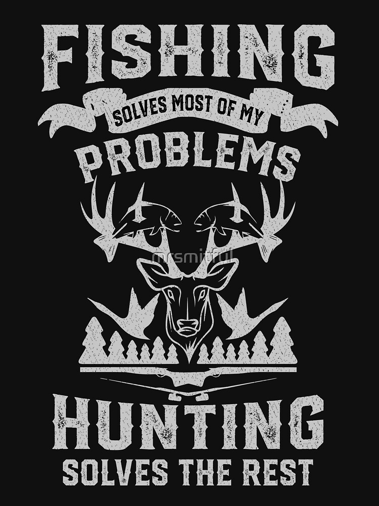 RedBubble: Funny Fishing and Hunting