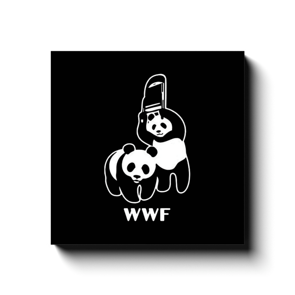 BustedTees: WWF Canvas Wraps