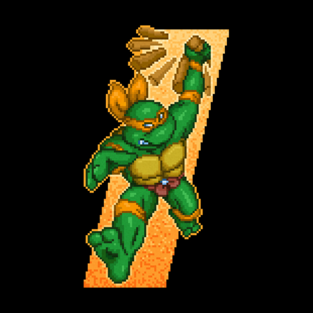 NeatoShop: Michelangelo is a party dude