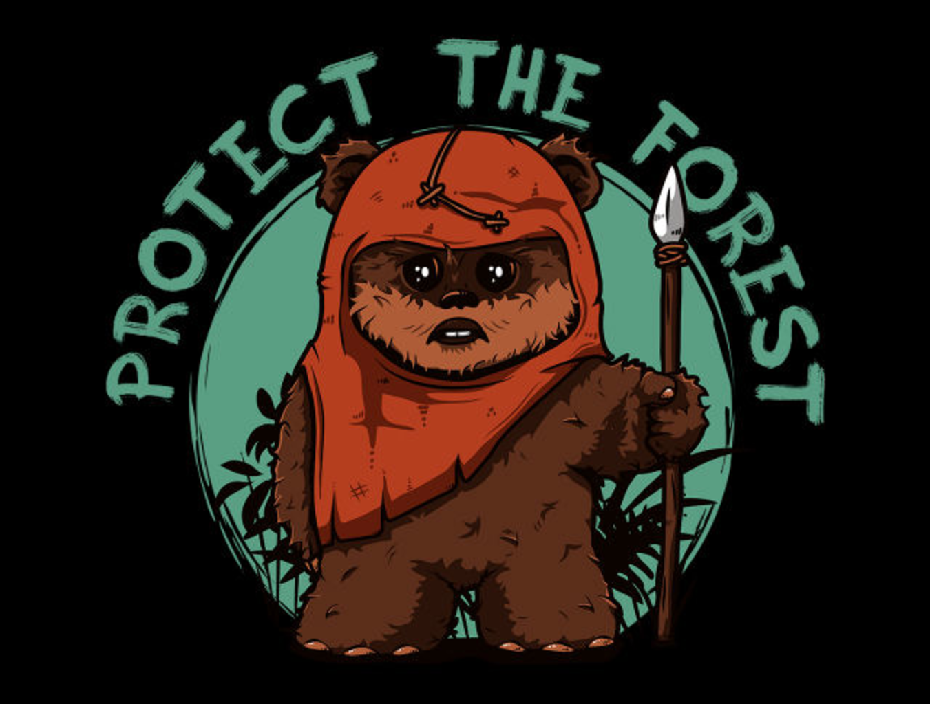 TeeFury: Protect the Forest