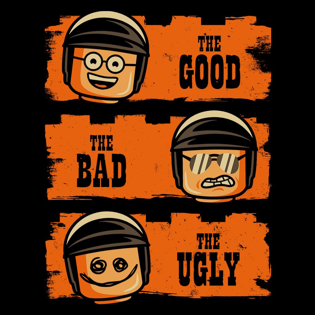 Pop-Up Tee: Good Cop Bad Cop Ugly Cop