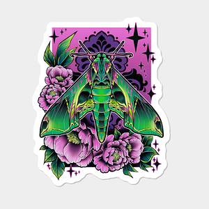 Design by Humans: Sphinx Moth Sticker