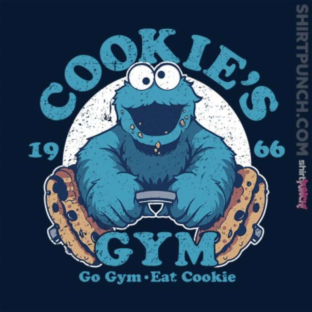 ShirtPunch: Cookie's Gym