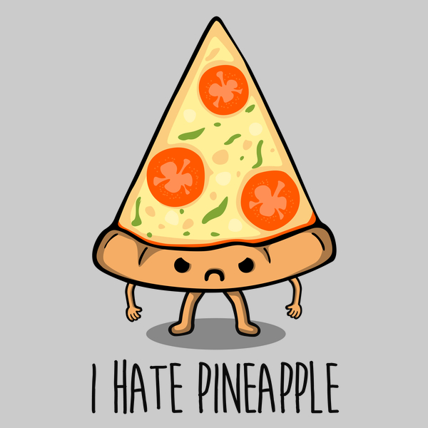 NeatoShop: I Hate Pineapple