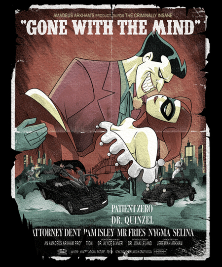 Qwertee: Gone With The Mind