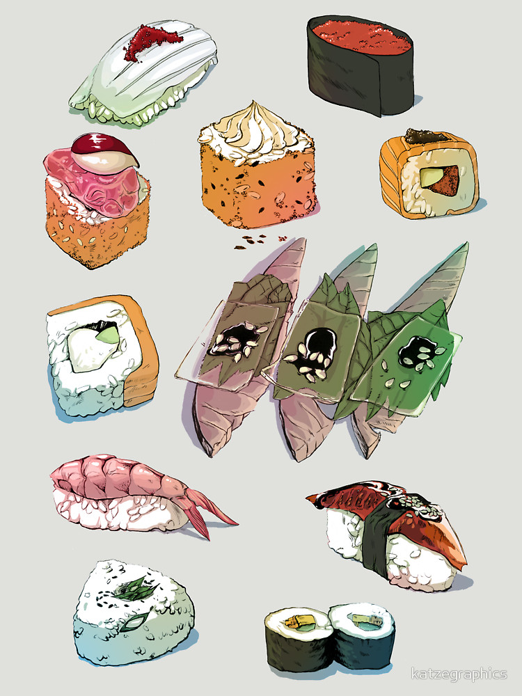 RedBubble: Sushi set
