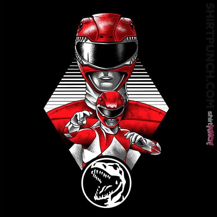 ShirtPunch: The Red Ranger
