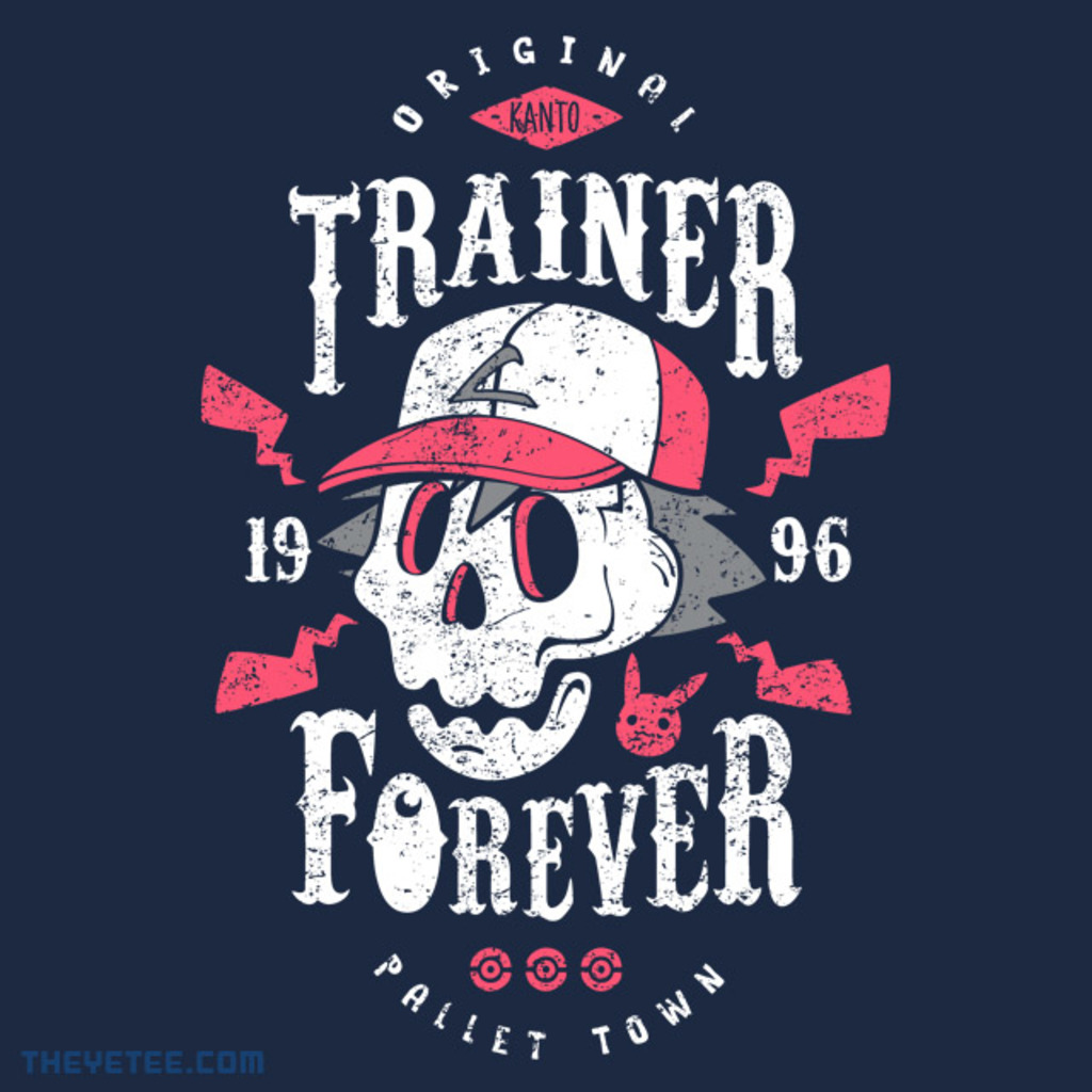 The Yetee: Trainer Forever