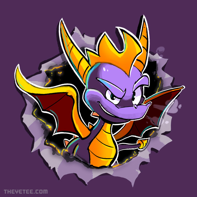 The Yetee: Purple Blaze