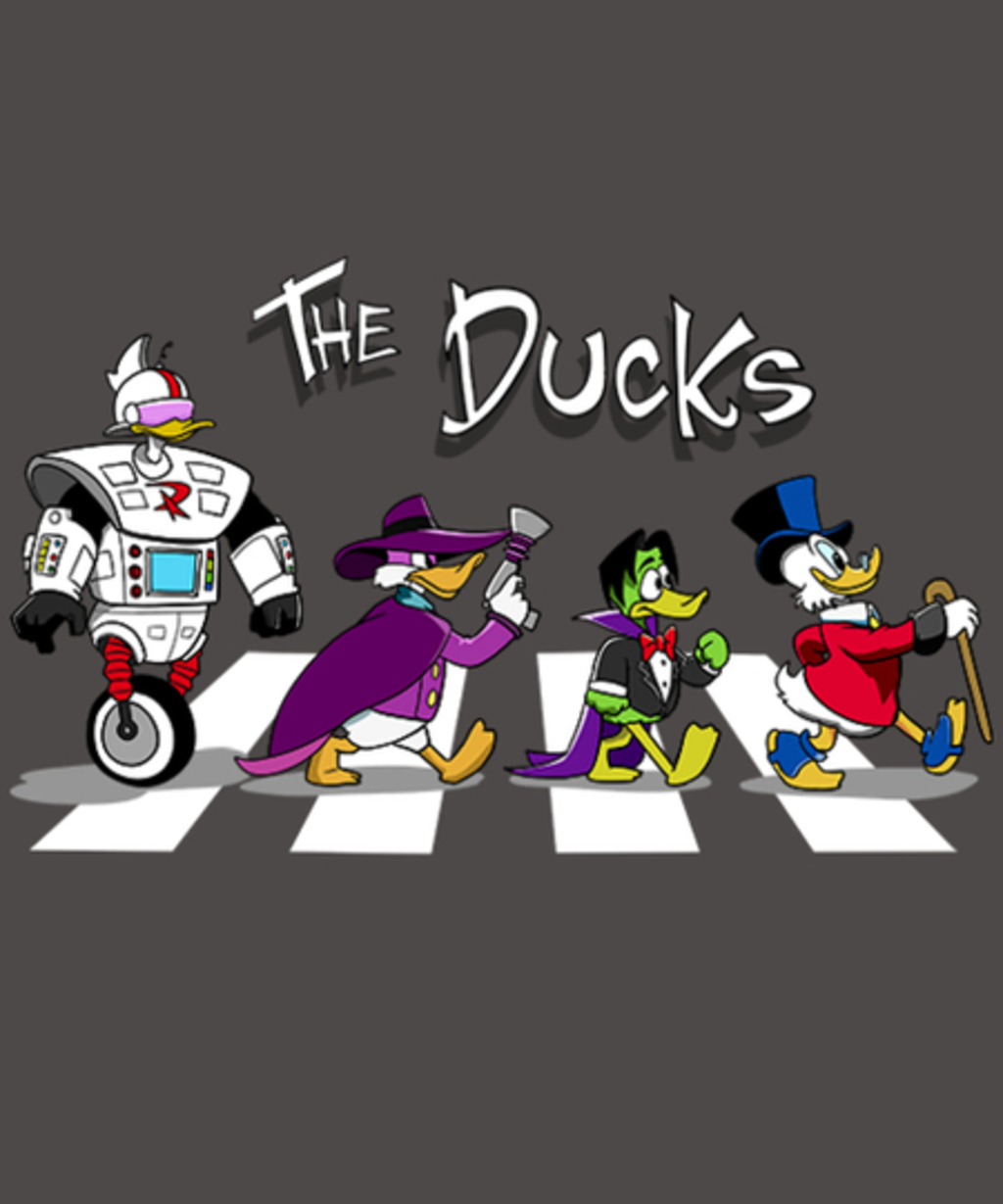 Qwertee: The Ducks