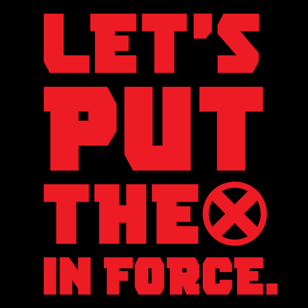 NeatoShop: Let's Put the X in Force - Red like Santa