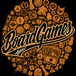 Qwertee: BoardGames Addict