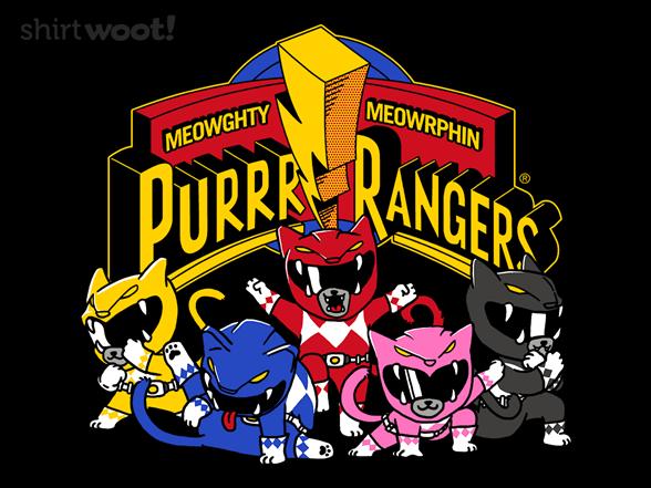 Woot!: Purrr Rangers