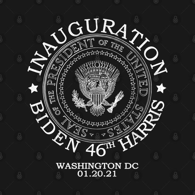 TeePublic: Biden Harris Presidential Inauguration Day 2021