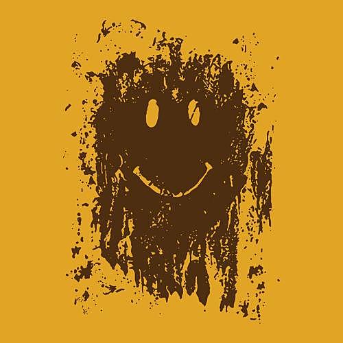 Five Finger Tees: Mud Splatter Smiley Face T-Shirt