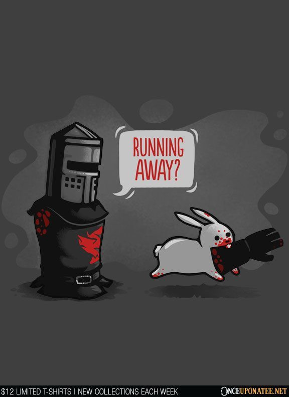 Once Upon a Tee: Running Away