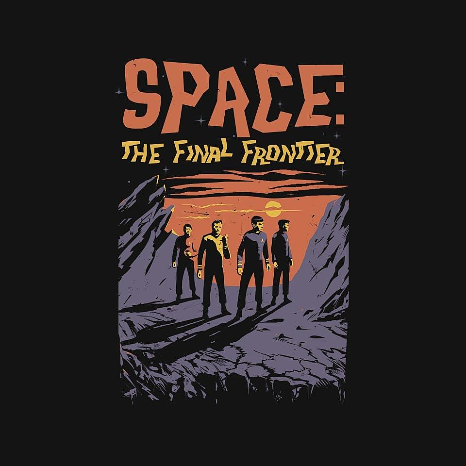 TeeFury: Space: The Final Frontier