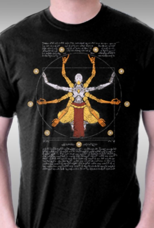 TeeFury: Vitruvian Omnic