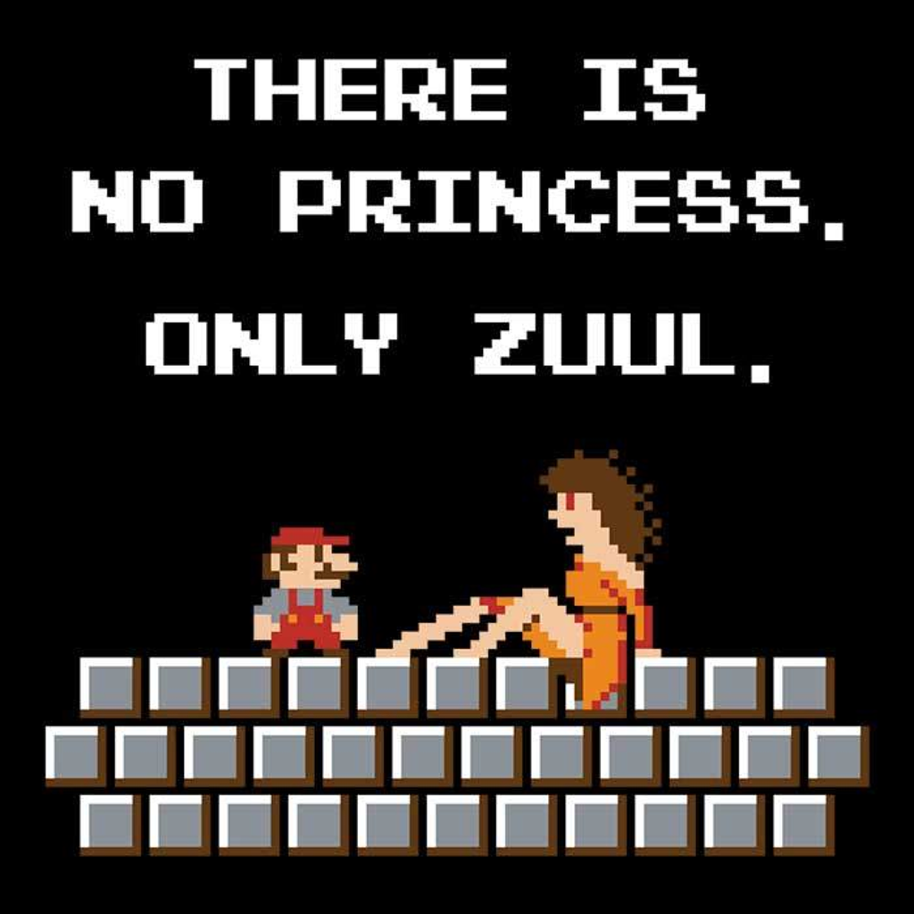 Once Upon a Tee: There is No Princess