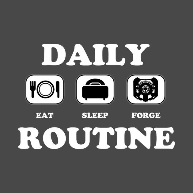 TeePublic: Daily Routine