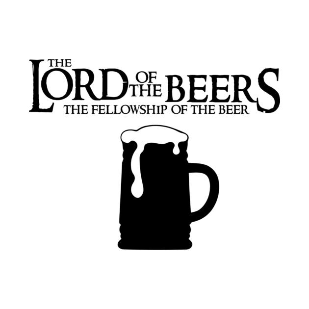 TeePublic: Seigneur des bières - Communauté de la bière T-shirt ajusté