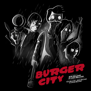 Pop-Up Tee: Burger City