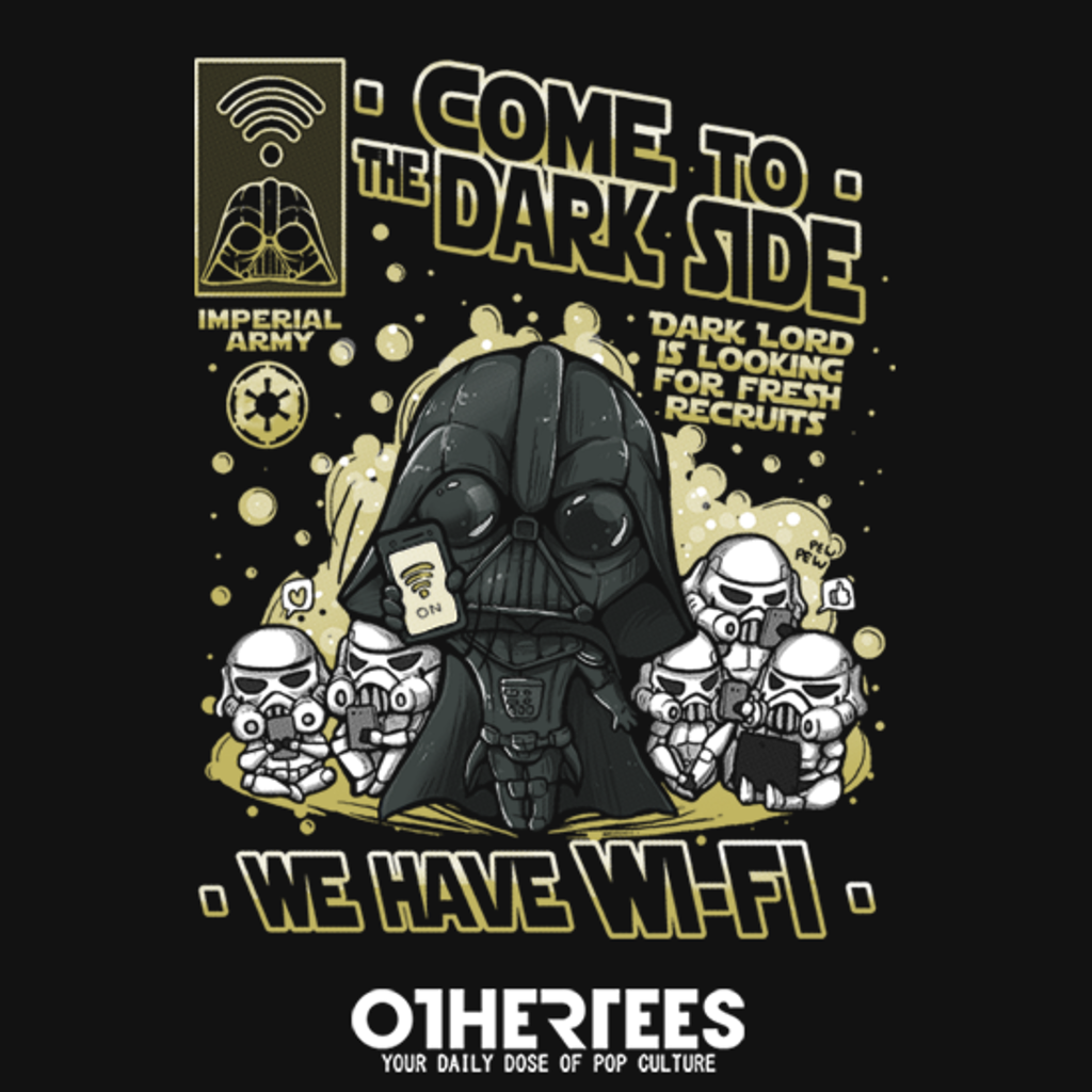 OtherTees: We have WIFI