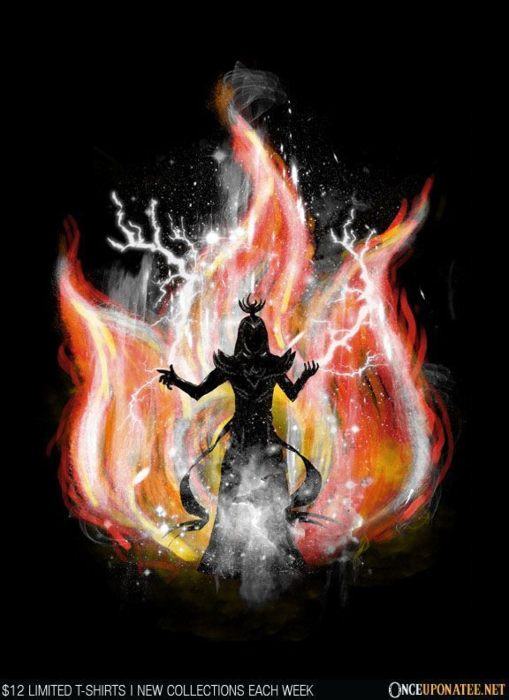 Once Upon a Tee: Fire Silhouette