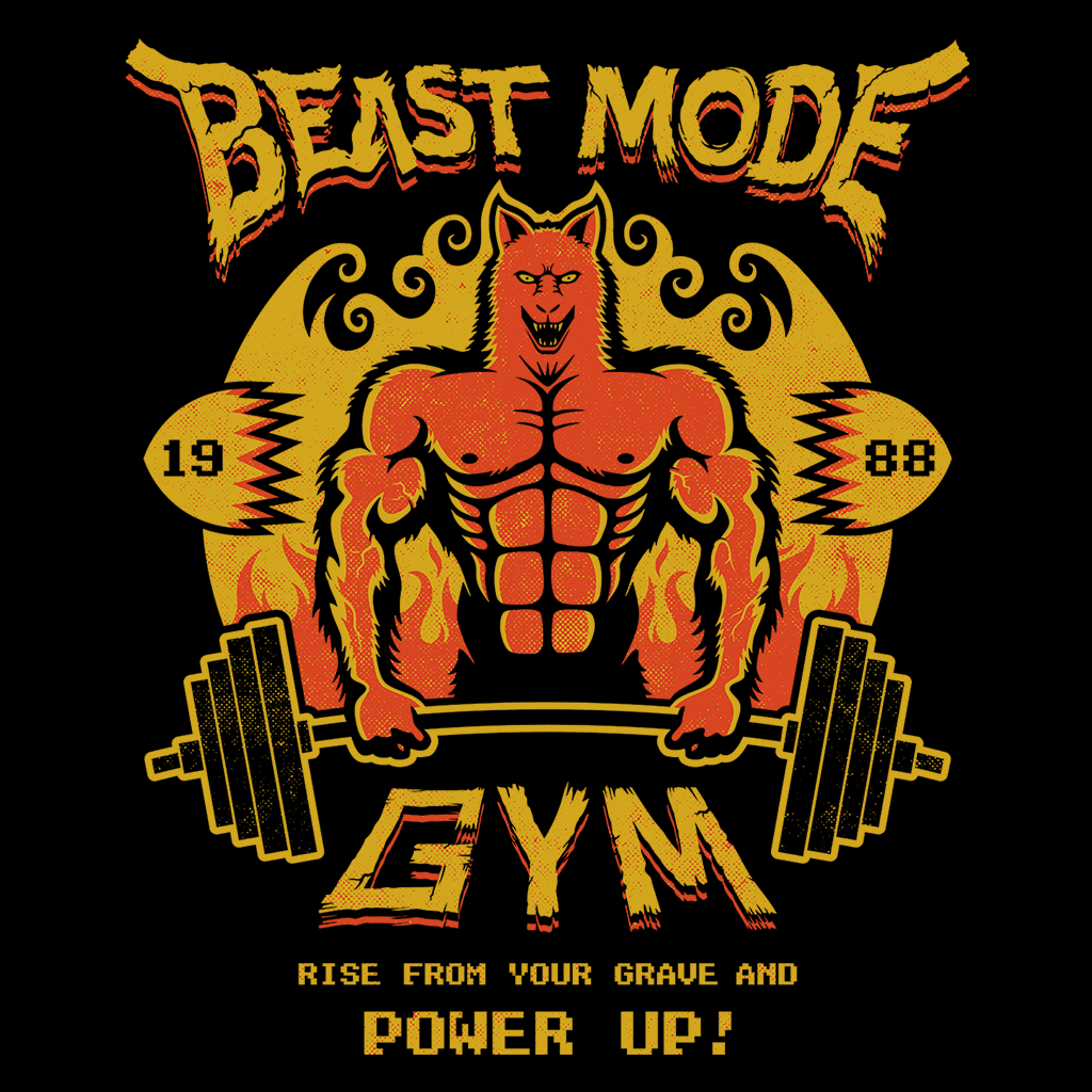 Pop-Up Tee: Daily Deal - Beast Mode Gym