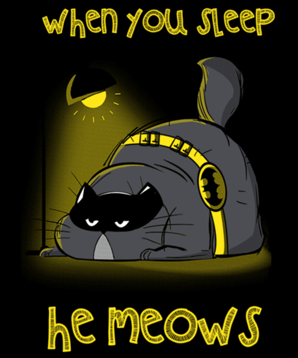 Qwertee: The Batcat