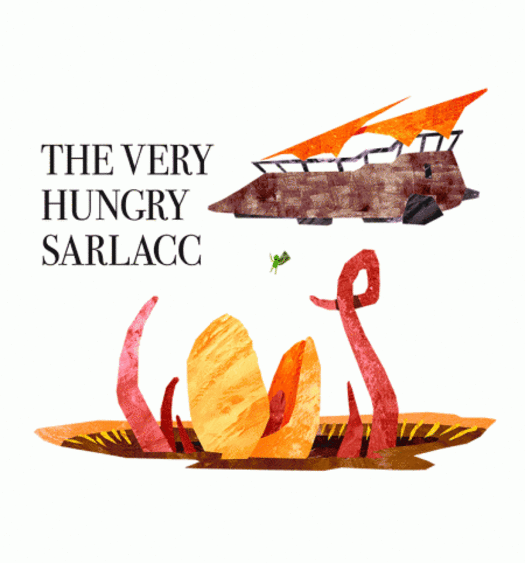 BustedTees: The Very Hungry Sarlacc