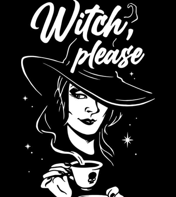 teeVillain: Basic Witch