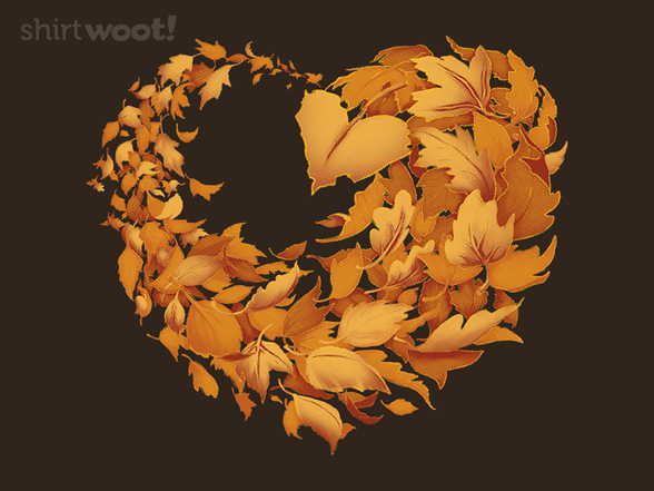 Woot!: Love Autumn Crewneck Sweatshirt - $16.00 + $5 standard shipping