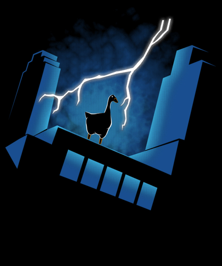 Qwertee: Goose: The animated series