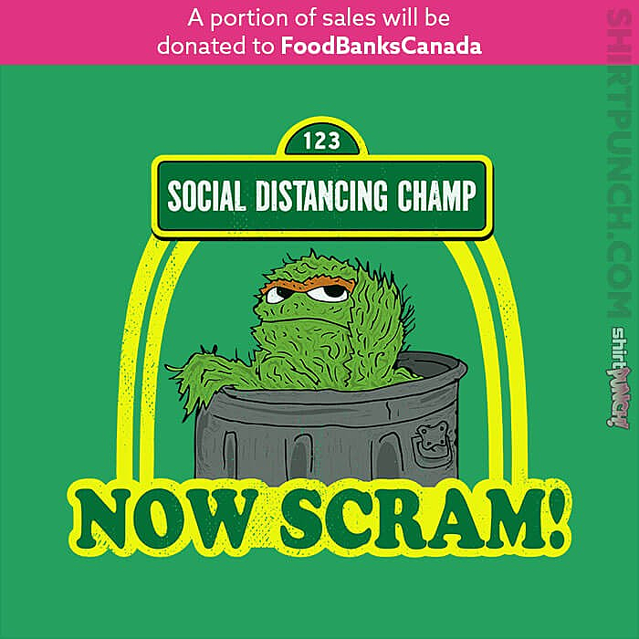 ShirtPunch: Social Distancing Grouch