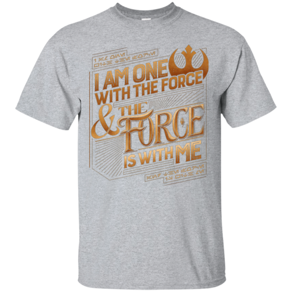 Pop-Up Tee: I Am One With The Force