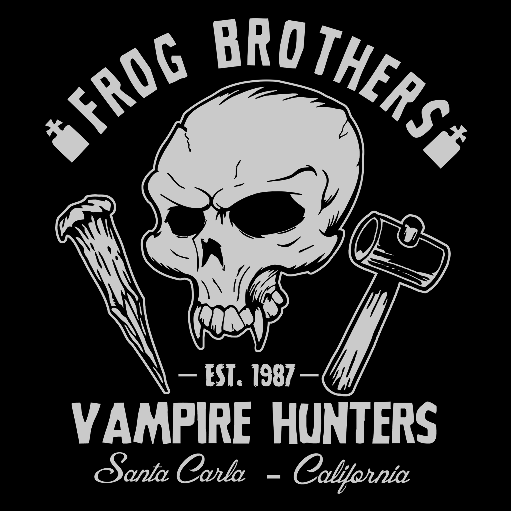 Pop-Up Tee: Weekend Deal - Frog Brothers Vampire Hunters