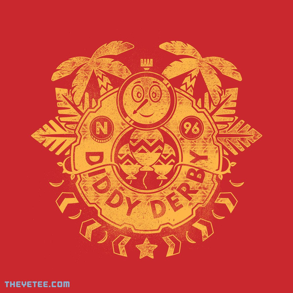 The Yetee: Diddy Derby by Mortar Made