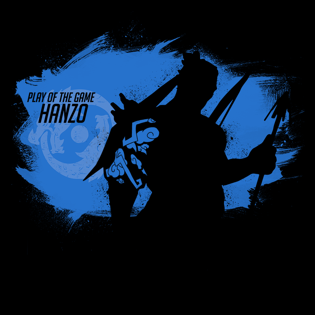 Pop-Up Tee: Play of the Game Hanzo