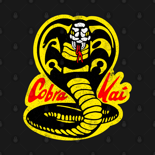TeePublic: Cobra Kai ✅ Strike First - Strike Hard