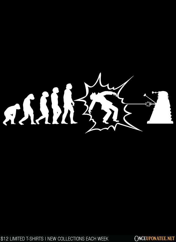 Once Upon a Tee: Exterminate!