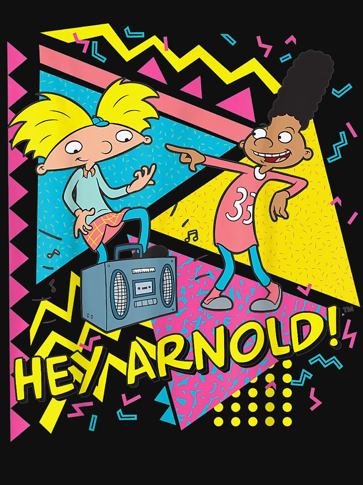 RedBubble: Nickelodeon Hey Arnold 90's Party Poster
