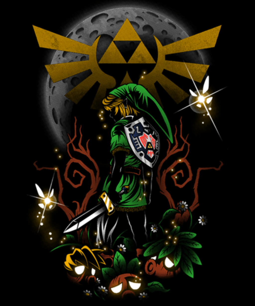 Qwertee: Majora's Night
