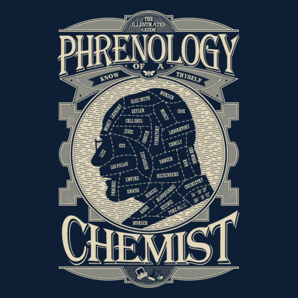 NeatoShop: Phrenology of a chemist-BreakingBad