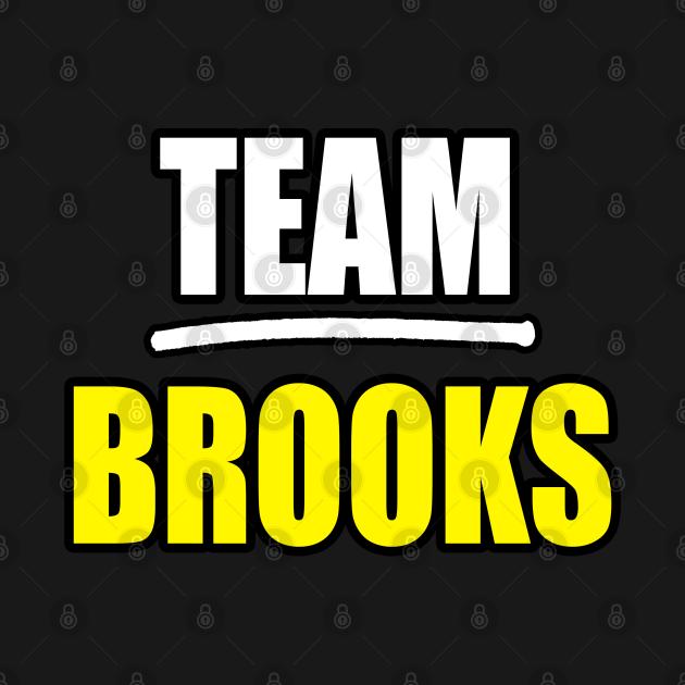 TeePublic: Brooks