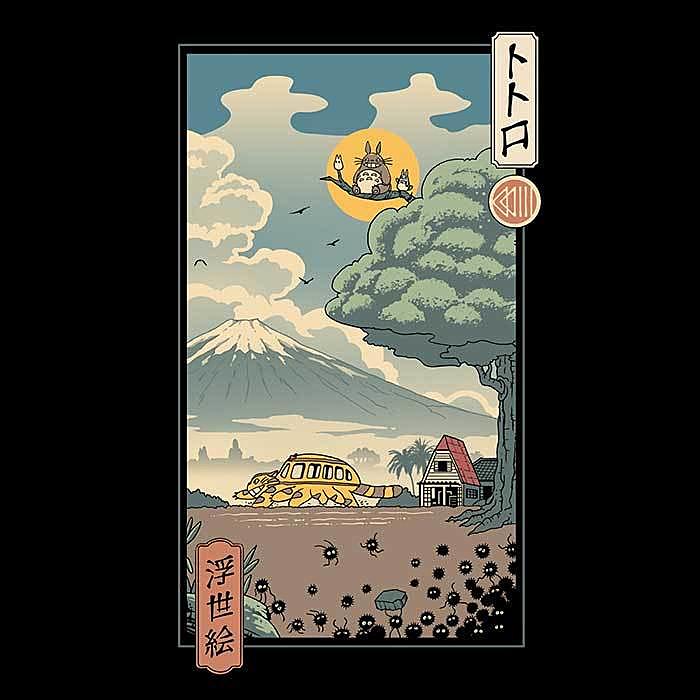 Once Upon a Tee: Neighbors Ukiyo-e