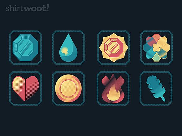 Woot!: Original Gym Badges