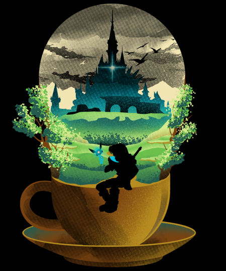 Qwertee: Hyrule Coffee