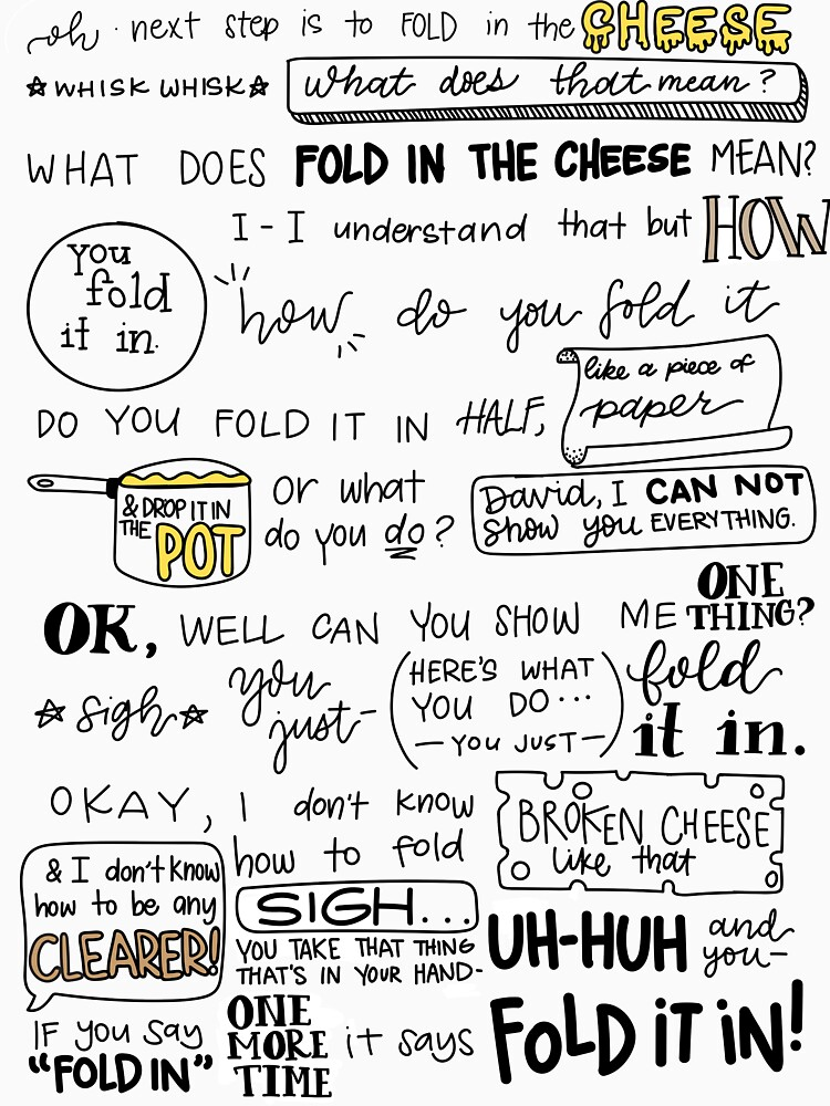 RedBubble: Fold in the Cheese