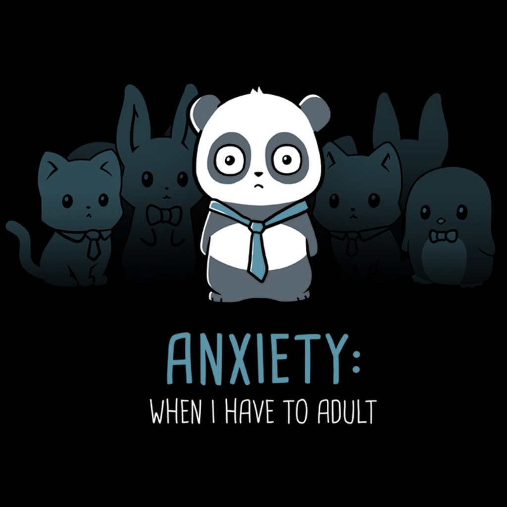 TeeTurtle: Anxiety: Adulting